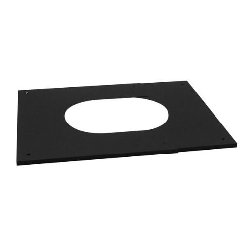(Chimney 77960 MetalBest Pitched Ceiling Plate - Adjustable - 8 Inches)