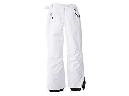 Damen Skihose Snowboardhose Schneehose weiß (40)