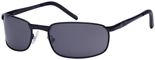 Edge I-Wear Men's Metal Frame Sunglasses with Flash Mirrored Lens - Protect Wear To Sunglasses Eyes I A