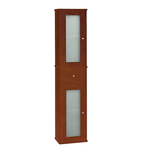 Contempo 12.188'' x 55.375'' Wall Mounted Linen Tower Finish: Cinnamon by Ronbow