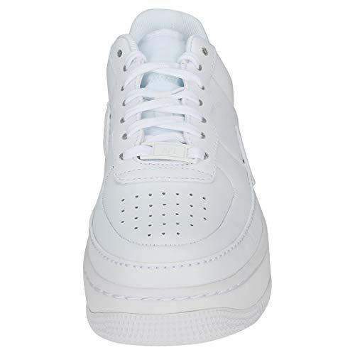 Af1 White Black 001 Scarpe W Bianco Donna Basse da White Ginnastica XX Jester NIKE aP5wqHR