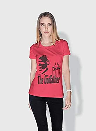 Creo The Godfather Movie Posters T-Shirts For Women - Xl, Pink