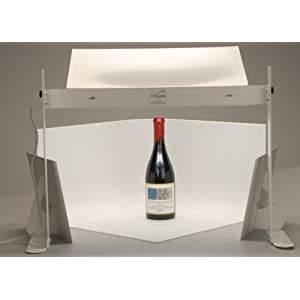 MyStudio MS20 Professional Table Top Photo Studio Lightbox Kit w/ 5000K Lighting for Product Photography, 20x20x12 inches