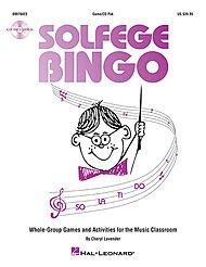 Bingo Melody - Hal Leonard Solfege Bingo - Whole-Group Games and Activities Game/CD