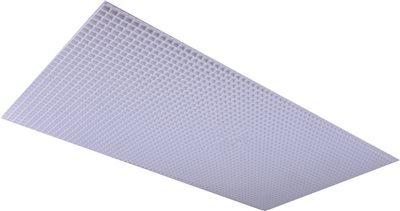 PLASKOLITE PL2X4 Polystyrene Egg Crate Lighting Diffuser, White, 23-3/4 x 47-3/4''