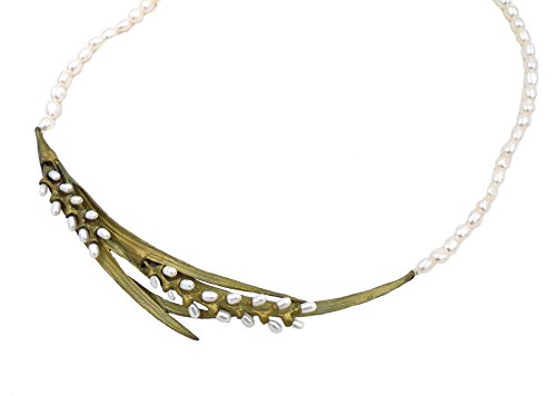 - Michael Michaud Rice Pearl Statement Necklace for Silver Seasons...