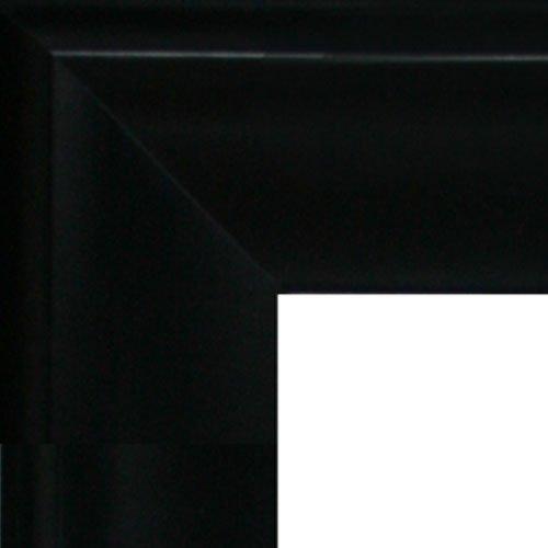 overstockArt Ledent Sitting Young Girl Canvas with Black Satin King Frame