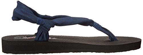 Skechers Meditation Summer Breeze - Sandalias Mujer Marino