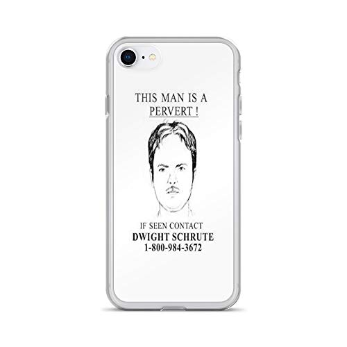 iPhone 7/8 Pure Clear Case Cases Cover Pervert Dwight