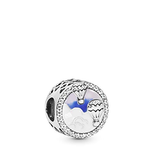 (PANDORA Hot Air Balloon Trip 925 Sterling Silver Charm - 798061CZ)