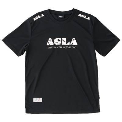 神話も注釈を付けるagla/アグラ Tシャツ フットサルハンソデTシャツ (ag17140-26)
