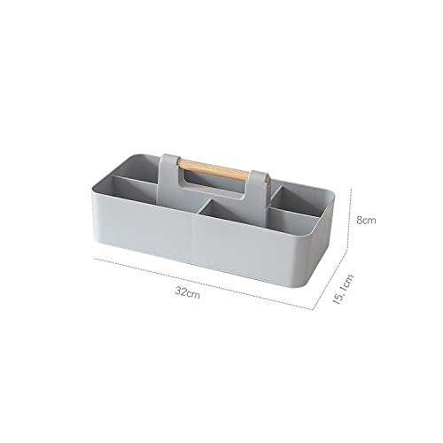 Heart .Attack Receive a case Table Living Room Desktop Remote Control Storage Box Simple Plastic Wall Hanging Dressing Cosmetic Holder Small Object Container,Grey (Best Word To Html Converter)