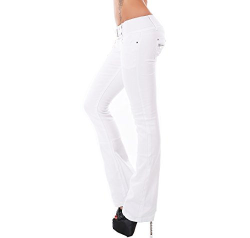 Sinnemaxx Sinnemaxx Jeans Jeans Donna Bianco Donna Sinnemaxx Bianco Jeans Donna PqwqAv