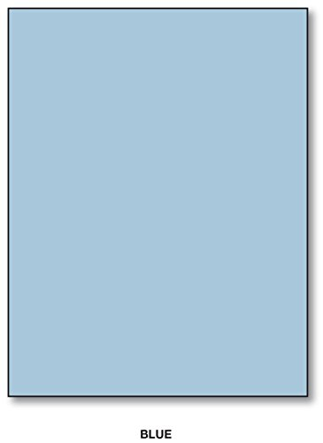 Blue 50 Sheet Pack - Color Card Stock Paper, 8.5