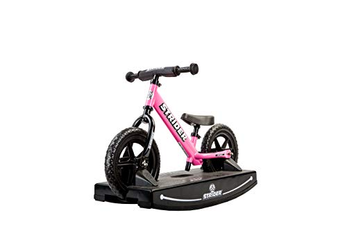 Strider, 2-in-1 Rocking and Ride-On Balance Bike Toy, for Ages 6 Months to 5 Years, Pink ()