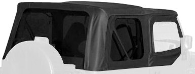R&age Products 99515 Soft Top OEM Replacement w/soft upper Door Skins & Amazon.com: Rampage Products 99515 Soft Top OEM Replacement w/soft ...
