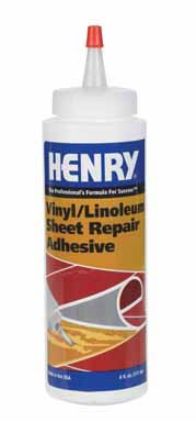 Henry Vinyl & Linoleum Repair Adhesive Vinyl Floors Squeeze Bottle 6 Oz
