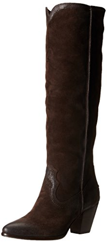 de Botas Charcoal con Frye Tall para 72068 Renee costuras mujer pw5Sq1