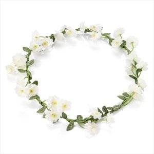Hair Flower Garland   Crown - Bridesmaids   Festivals  Amazon.co.uk ... 9d9235db805