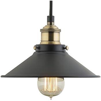 Andante Industrial Kitchen Pendant Light Antique Brass