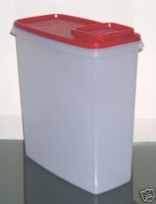Tupperware Super Cereal Storer 20 Cup-Passion Red (Tupperware Super Cereal)