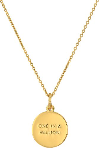 Buy kate spade necklace initial gold