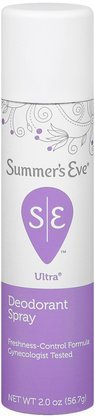 SUMMER'S EVE Ultra Feminine Deodorant Spray-2 oz (Quantity of 5)
