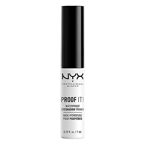 NYX PROFESSIONAL MAKEUP Proof It! Waterproof Eyeshadow Primer, 0.23 Ounce