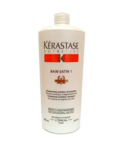 Nutritive Bain Satin 1 Exceptional Nutrition Shampoo  - 1000