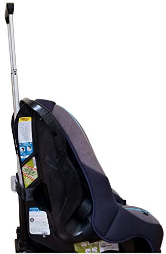 Holm Airport Car Seat Stroller Travel Cart and Child Transporter - A Carseat Roller for Traveling. Foldable, storable, and stowable Under Your Airplane seat or Over Head Compartment. by hölm (Image #4)