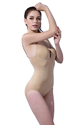 Franato moldeado taza Body de la mujer beige beige X-Large