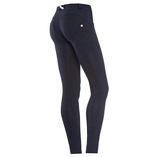 Freddy Camiseta Básica wrup1r1e-n para mujer Classic Regular cintura Skinny para hombre, color negro B94