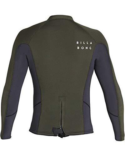 Billabong Men's 2Mm Absolute Comp Long Sleeve Jacket Grey Large by Billabong