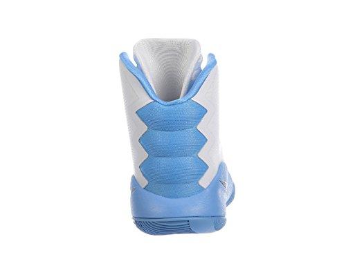 Zoom Shoes TB Basketball Metallic Nike Blue Mens White Promo Hyperdunk Silver Trainer 2016 University BqqRwAZ