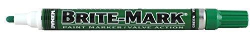 BRITE-MARK Medium Tip Paint Marker, Green (Best Handgun Sights For Old Eyes)