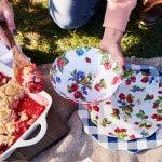 Sur La Table Strawberry Melamine Pasta Bowl