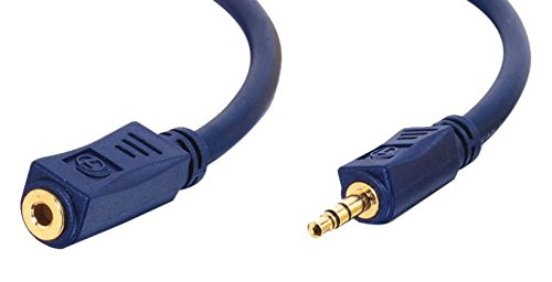 Cables To Go 80284 Velocity Prolunga Jack da 3, 5 mm C2G