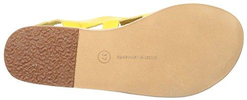 Carven Womens Flat Sandal Banana