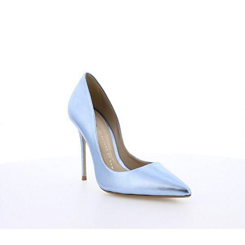 Bronx High Heels Rio 75084-D Metallic Pumps Stiletto Blau