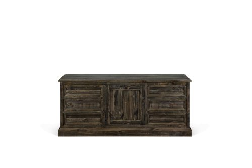 Magnussen D2491-04 Bellamy Wood Buffet Curio Cabinet