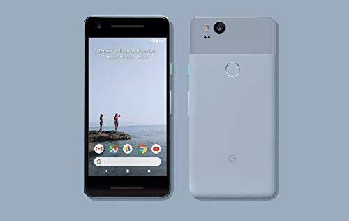 Google Pixel 2 64GB, Google Unlocked Smartphone, Kinda Blue (Renewed)