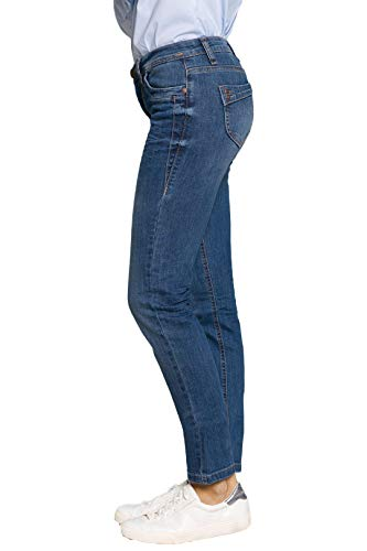 Azul 74 Bluefire Para Pantalón Mujer 80 Cm CCwqpO