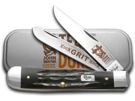 Case Buffalo Horn John Wayne Trapper Pocket Knife by Case (Image #1)