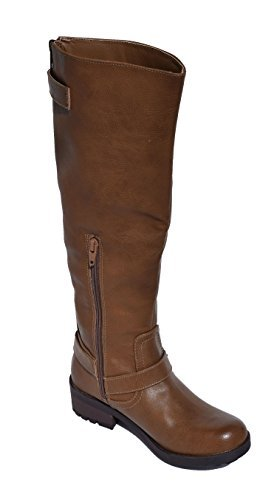 Amazon.com | Women Tall Brown Riding Boots Size 6 | Boots