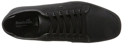Boxfresh Sparko Sh Black Black Rip Nylon Mens Trainers Shoes DjcXeMgI