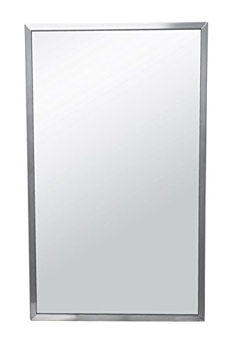 Brey-Krause Commercial Restroom Mirror - 18 inches Wide by 30 inches Tall