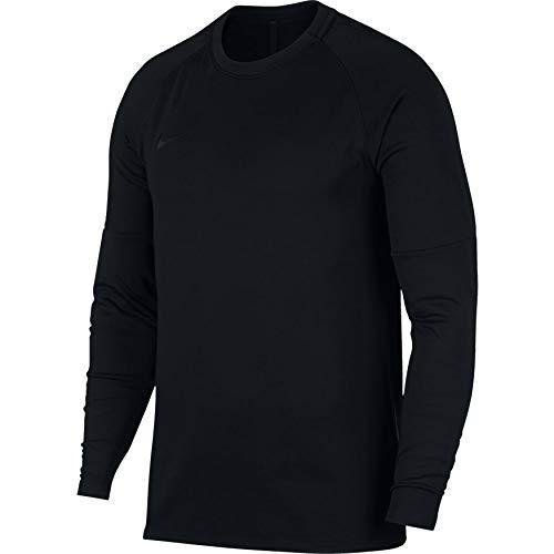 Acdmy Uomo Nike Lunghe Dry Black A black black Maniche Maglia Nk Crew SBFnUB