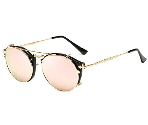 AC Aire Libre Moda De Retro Gafas Sol Multicolor Gafas UV400 Unisex Al Aviador Lente ngRXnx