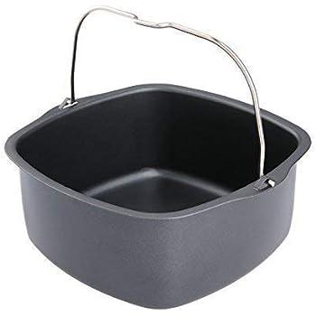Amazon Com Air Fryer Non Stick Baking Pan Fits Philips