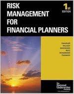 Ilmainen epub-kirjan lataus Risk Management for Financial Planners PDF B003LJQ82G